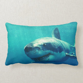 GREAT WHITE SHARK 1 LUMBAR PILLOW