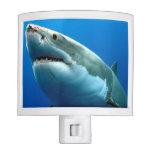 Great White Shark 3 Night Light at Zazzle