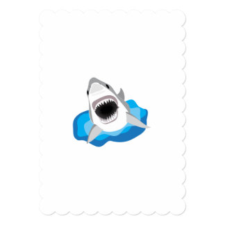 Great White Shark Attack Card