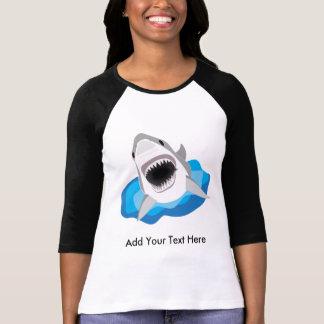 Great White Shark Attack Tee Shirts
