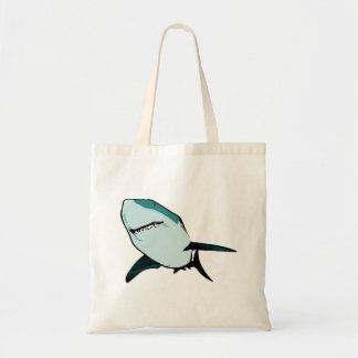 Great White Shark Canvas Bags