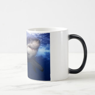 Great White Shark Color Change Coffee Mug