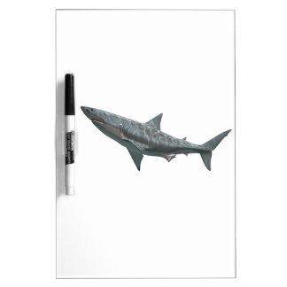 Great White Shark Dry Erase White Board