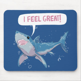 Great White Shark feels Great Mouse Pad