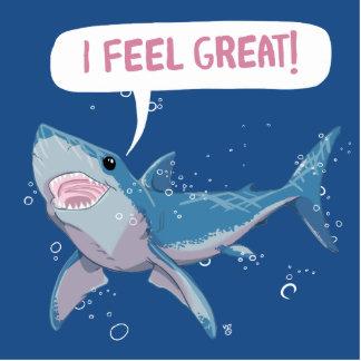 Great White Shark feels Great Statuette