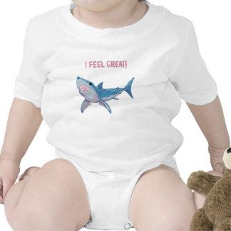 Great White Shark feels Great Bodysuits