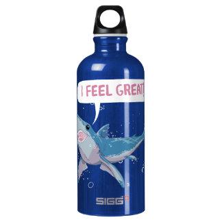 Great White Shark feels Great Water Bottle