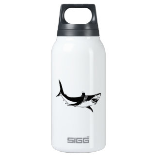 Great White Shark Insulated Water Bottle