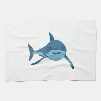 GREAT WHITE SHARK KITCHEN TOWEL