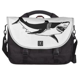 Great White Shark Laptop Commuter Bag