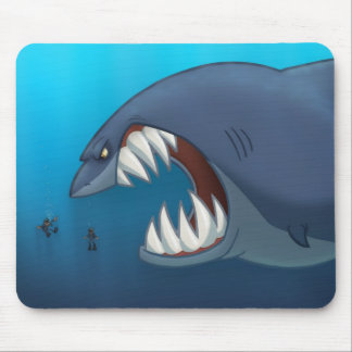 Great White Shark Mousepad