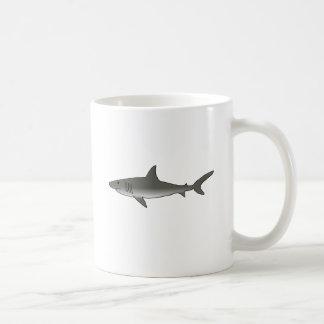 Great White Shark Classic White Coffee Mug