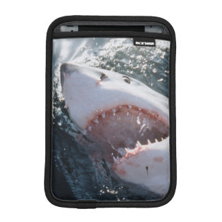 Great White Shark on sea iPad Mini Sleeve