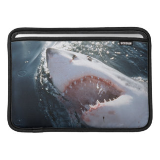 Great White Shark on sea MacBook Sleeve