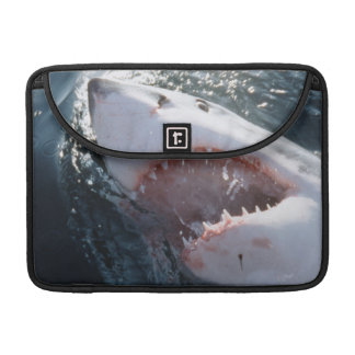 Great White Shark on sea Sleeve For MacBook Pro