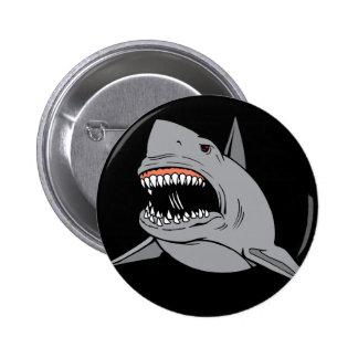 Great White Shark Pinback Button
