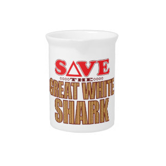 Great White Shark Save Pitcher