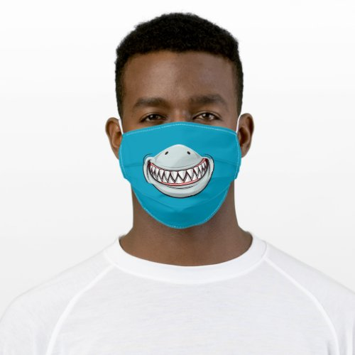 Great White Shark Smile Cloth Face Mask