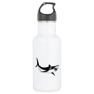 Great White Shark Stainless Steel Water Bottle