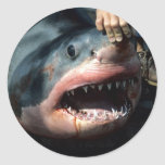 Great White Shark Stickers