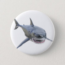 great white shark swimming to the front button