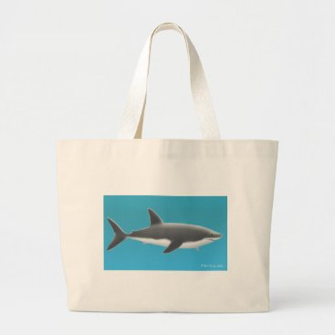 Professional Business Great White Shark Tote Bag
