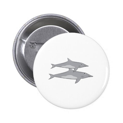 Great White Sharks Pin