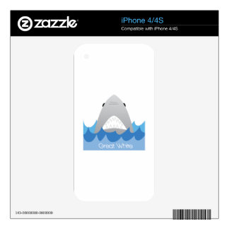 Great White Skin For The iPhone 4