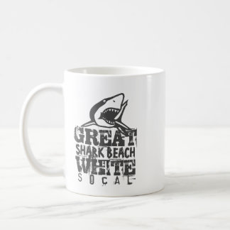 Great White SoCal Coffee Mug