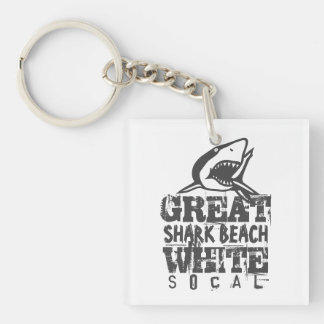 Great White SoCal Keychain