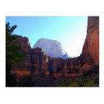 Great White Throne, Zion, Postcard
