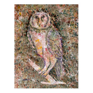 Great Wise Owl Postcard Post Cards