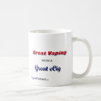 Great with Vaping Coffee Mugs (Styles & Colors)