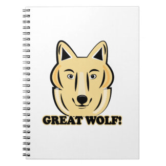 Great Wolf Note Book