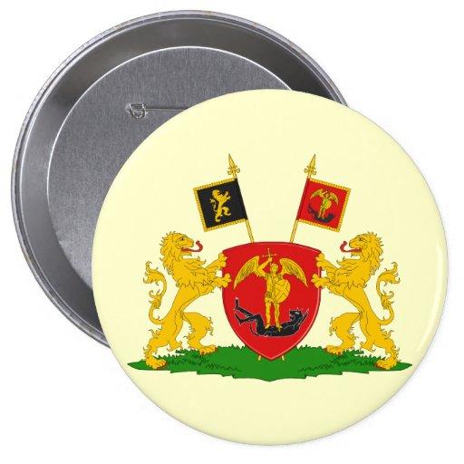 Greater Brussels, Belgium Button
