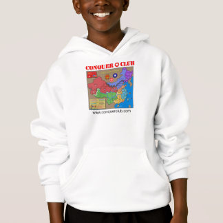 Greater China Map Hoodie
