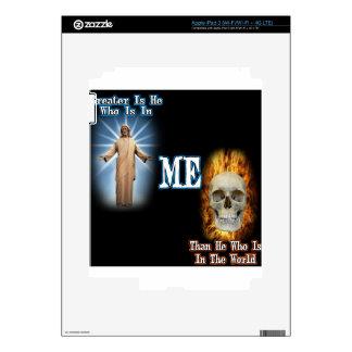 Greater is He iPad 3 Skin