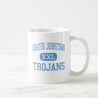 Greater Johnstown - Trojans - High - Johnstown Classic White Coffee Mug