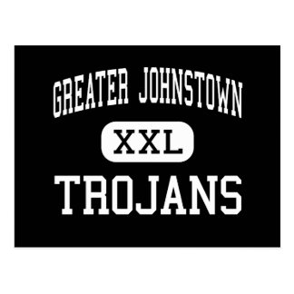 Greater Johnstown - Trojans - High - Johnstown Postcard