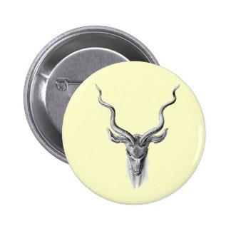 Greater Kudu Pinback Button