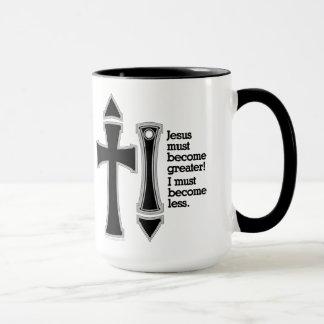 Greater-Less John 3-30-B Mug