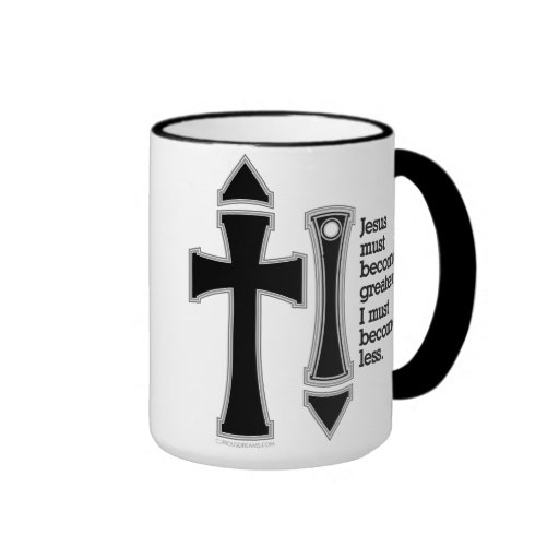 Greater-Less John 3-30-B Ringer Coffee Mug