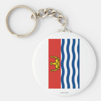 Greater London Flag Basic Round Button Keychain