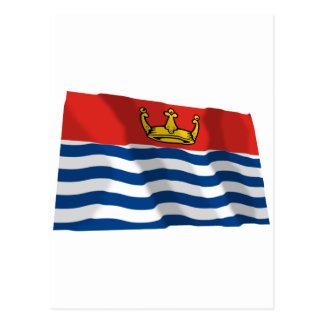 Greater London Waving Flag Postcard