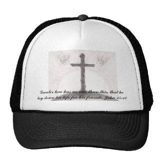Greater love has no one than this, that... trucker hat