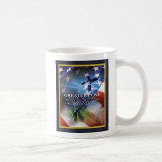 Greater Love Veterans Day Mug