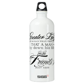 Greater Love Water Bottle