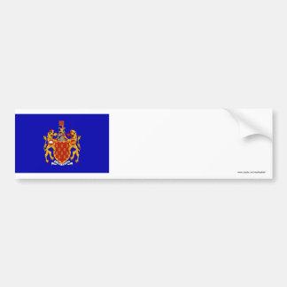 Greater Manchester Flag Car Bumper Sticker