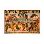 Greater Minstrels - Bunch of Clowns at the Beach Postcard