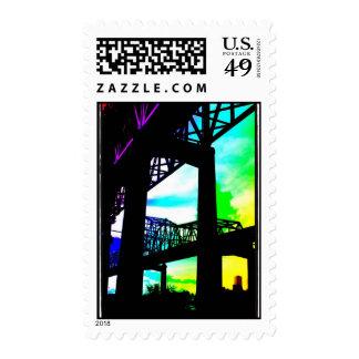 greater New Orleans Bridge Postage Stamp